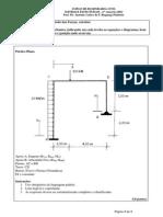 UNICID - Engenharia Civil - Sistemas Estruturais - Lista de Exercícios 1 - 2sem2013
