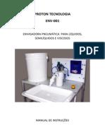 PROTON TECNOLOGIA ENV-001 - MANUAL DE INSTRUÇÕES