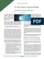 Compte Rendu Entretiens Big Data 2012