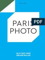 Paris Photo 2013 - dossier de presse