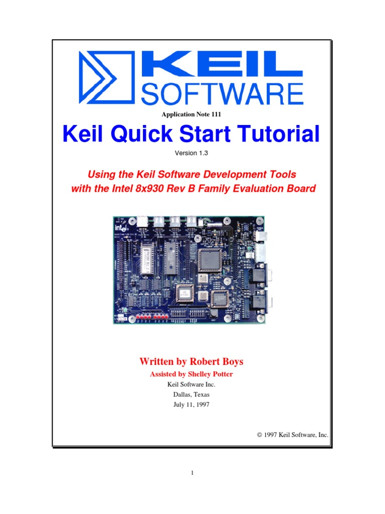 Keil Tutorial | Source Code | Assembly Language