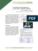 Evaluacion de La Resistencia Del Hormigon a La Penetracion Iones Cloruro. Metodo Acelerado