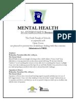 FLYER - Mental Health