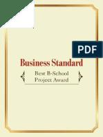 Best Bschool Project Award.pdf