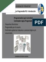 Automatizacion I - Controlador Logico Programable PLC