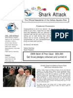 2009 April-May Shark Attack Newsletter
