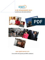 eBook Atualidades ENEM 2013