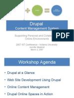 Drupal Workshop Final PPT