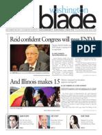 WashingtonBlade.com, Volume 44, Issue 45, November 8, 2013
