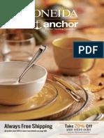 Oneida & Anchor Hocking November Catalog