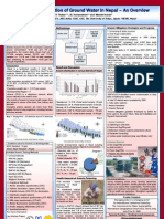 """Arsenic  Contamination  of  Ground Water  in  Nepal  –  An  Overview"", Poster"