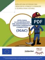 Guía para la elaboraicón del Instrumento de Gestión Ambiental Correctivo - IGAC_ Oro Justo