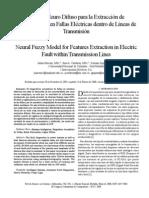 8 Modelo Neuro Difuzo Para La Extraccion de Fallas Electricas Dentro de Las Lineas de Trasmicion