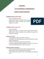 Resumen de Normas de Permanencia en La Universidad