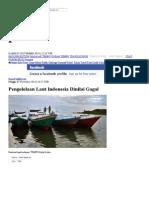 Pengelolaan Laut Indonesia Dinilai Gagal _ Nasional _ Tempo