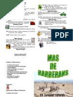 Programa de la setmana cultural 2009