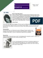 Pipiwharauroa, Te Rawhiti Newsletter, Volume 1 Issue 8