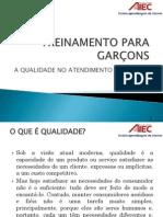 Treinamento para Garçons 20090807
