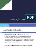 Acad f Legislacao Ambiental