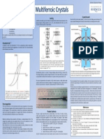 Multiferroic Crystals poster
