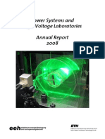 2008 Annual Report Power Systems Laboratory and High Voltage Laboratory