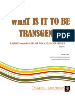 What is it to be transgender?