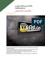 Desencripta Redes WPA Con WPS