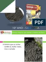 Powerpoint nr. 5 - História de uma rocha sedimentar