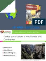 Powerpoint nr. 8 - Deriva dos Continentes e Tectónica de Placas