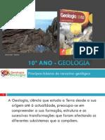 Powerpoint nr. 9 - O pensamento geológico