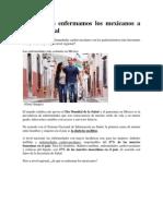 Enfermedades de Los Mexicanos a Nivel Regional