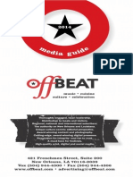OffBeat 2014 Media Guide