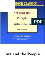 art and the people by william morris preview