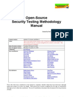 Open Source Security Testing