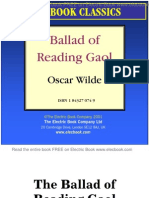 ballad of reading gaol by oscar wilde preview