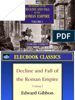 decline and fall of the roman empire vol i by edward gibbon preview