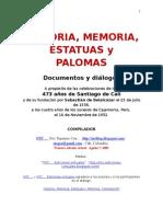 Historia, Memoria, Estatuas y Palomas. Compilación