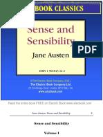 sense and sensibility by jane austen preview