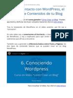 Tutorial WordPress - Curso Gratis Como Crear Un Blog