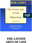 the lesser arts of life by william morris preview