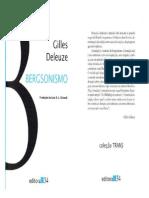 DELEUZE, Gilles. Bergsonismo