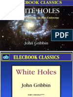 white holes - cosmic gushers in the universe by john gribbin preview