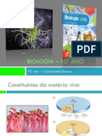 PPT4 - Constituintes da matéria viva