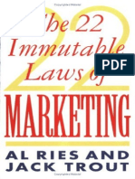 Al Ries & Jack Trout - The 22 Immutable Laws of Marketing
