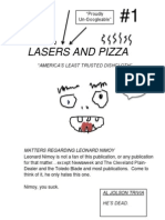 Lasers and Pizza Issue #1