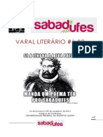 Varal Literario Sabadufes 1 e 2