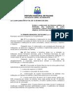 LEI COMPLEMENTAR Nº 84 de 13-05-2004 - Direito Real de Uso para instituições filantropicas