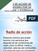 RADIO DE ACCIÓN DE LOS AVIONES POR SU