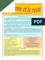 La Somme Et Le Reste No. a-3