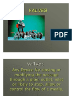 Valve & Type of vales